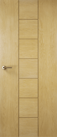 Solid Nice Oak Fire Door