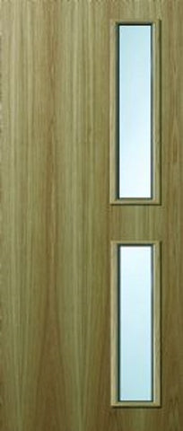 16g Oak Veneer FD60 Fire Door