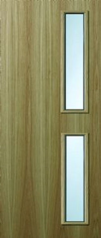 16g Oak Veneer Fire Door