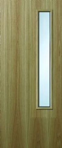 18g Oak Veneer Fire Door