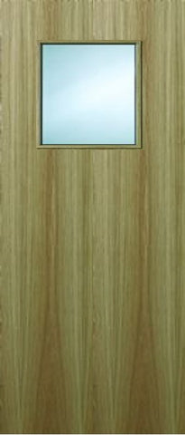 1g Oak Veneer Fire Door