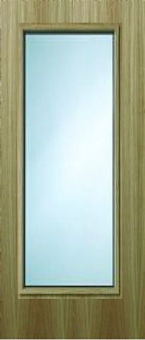 19g Oak Veneer FD60 Fire Door