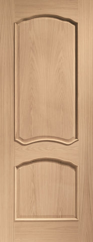Internal Oak Louis with Raised Mouldings