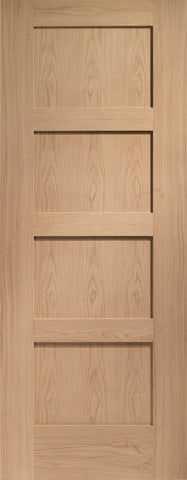 Internal Oak Shaker 4 Panel