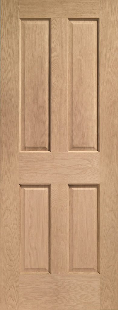 Internal Oak Victorian 4 Panel Door