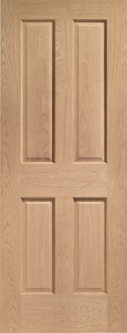 Internal Oak Victorian 4 Panel