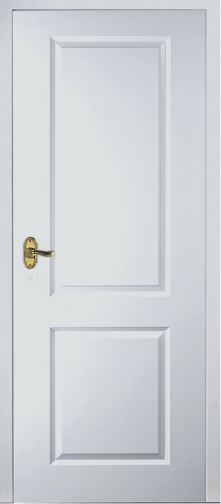 2 panel square top fire door