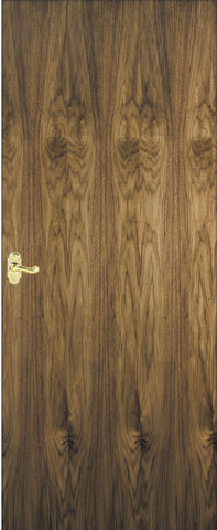 Walnut Veneer Fire Doors