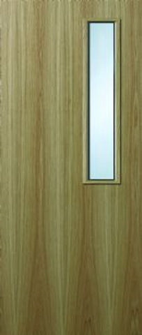 7g Oak Veneer FD60 Fire Door