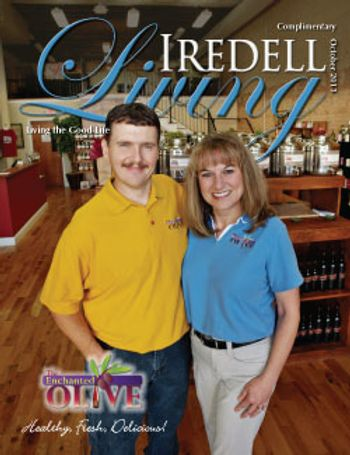 October Cover Story of Iredell Living Magazine