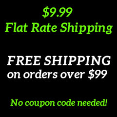 Flat Rate Shipping and Free Shipping on Orders