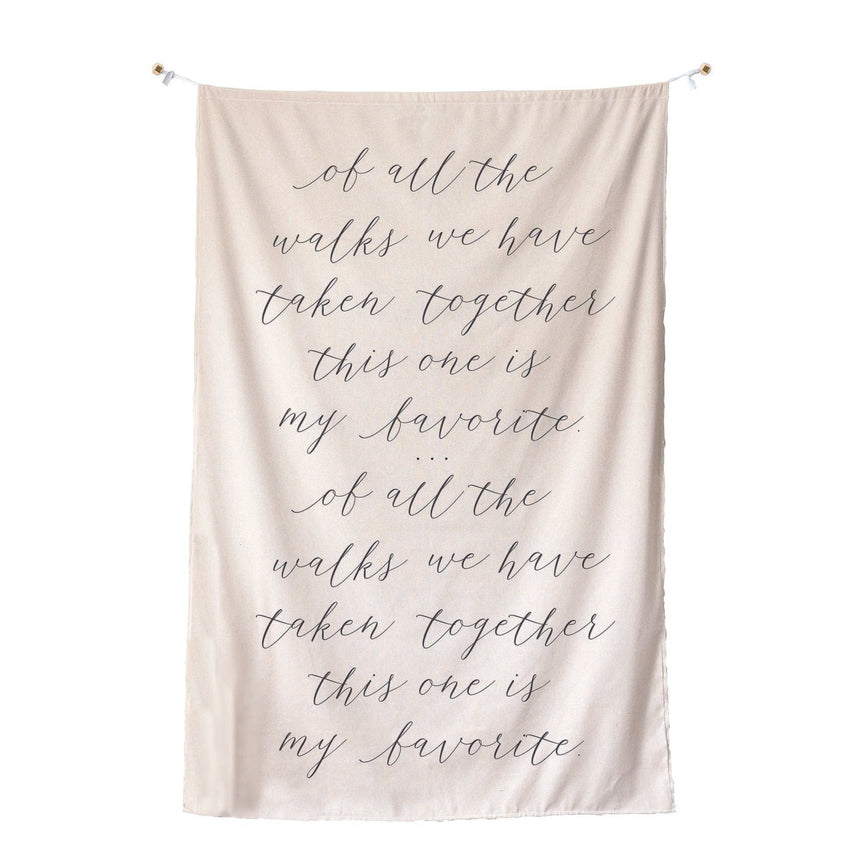 35012 Wedding Backdrop Quote