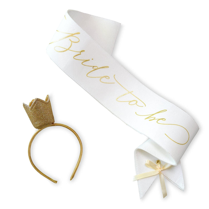 35081 Bride To Be Sash