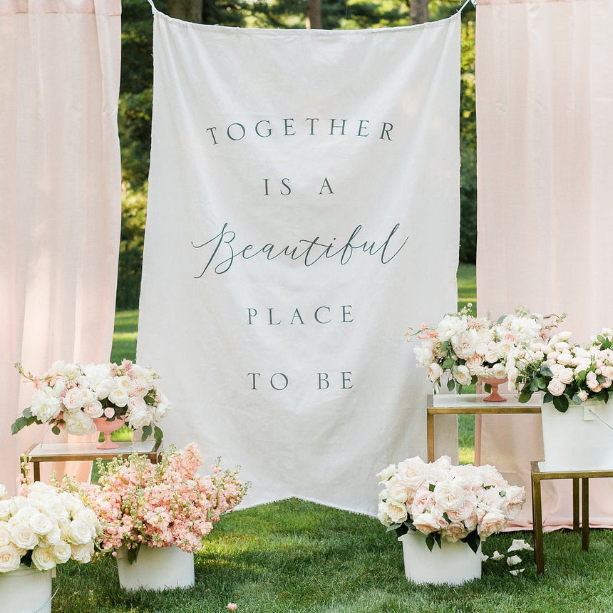 35568 Wedding Backdrop Banner