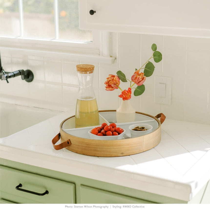 44687 Plaid Modular Serving Tray