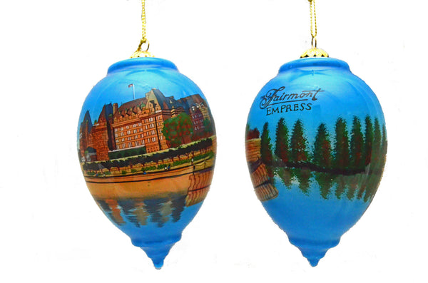 The Empress Hotel Ornament