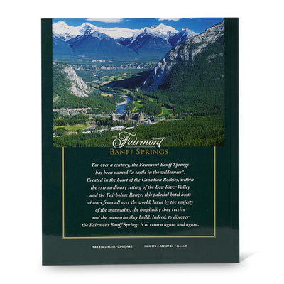 The Fairmont Banff Springs Back Cover