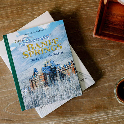 The Fairmont Banff Springs Book on Coffee Table