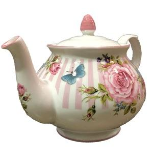 Le Château Frontenac's Rosemantique Collection - Teapot - Pink