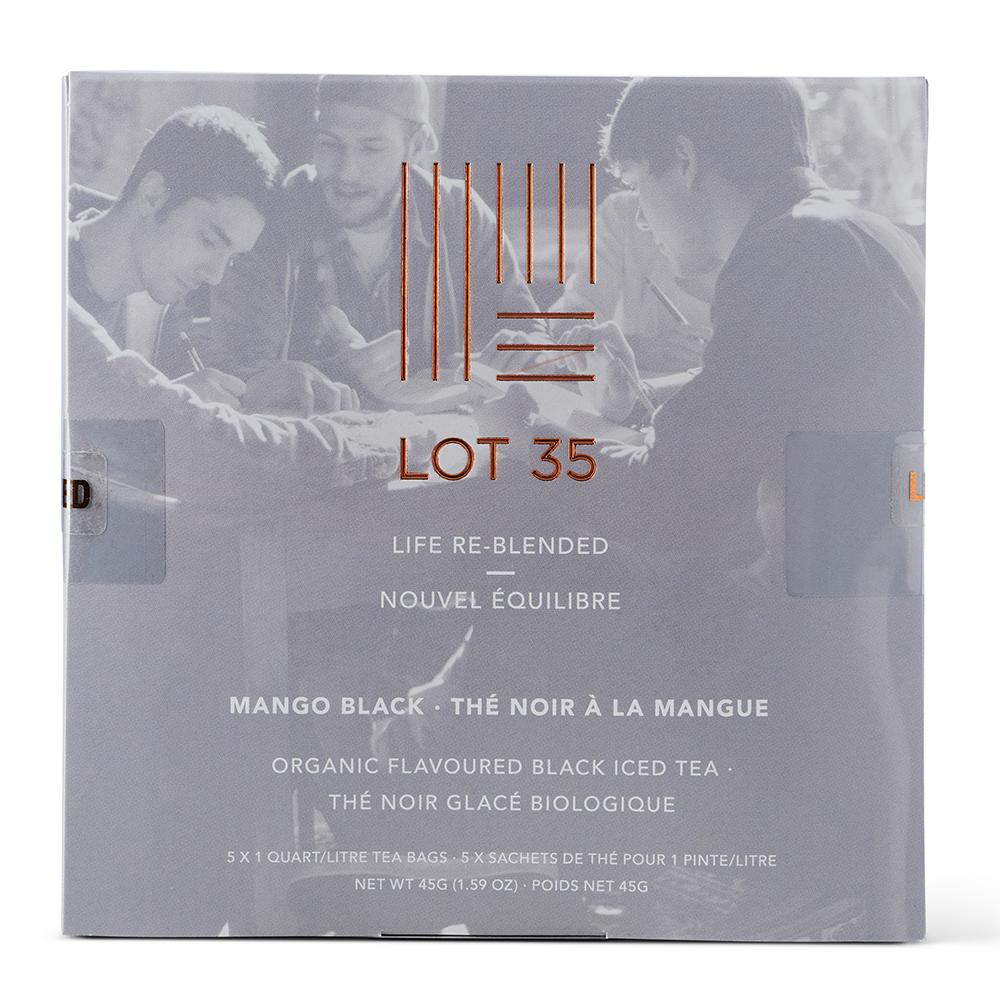 Organic Mango Black Iced Tea by Lot 35