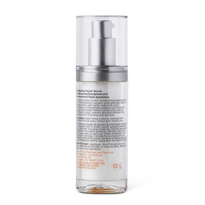 Kerstin Florian Correcting Brightening Facial Serum back label