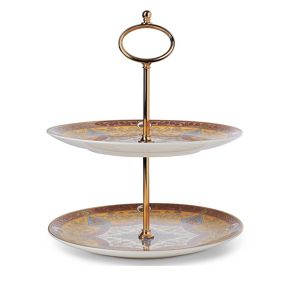 Library Collection - 2 Tier Cake Stand