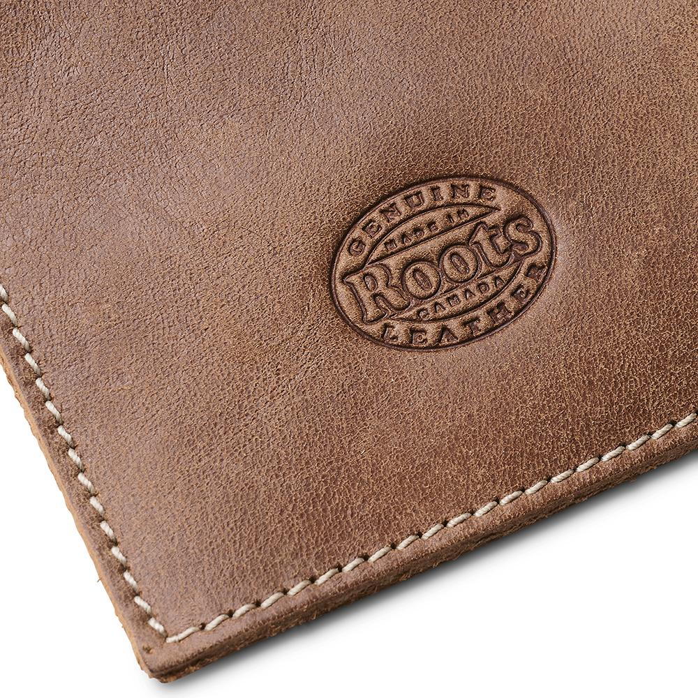 Canadian Pacific business card holder detail