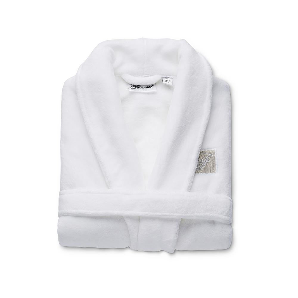 Folded kids robe