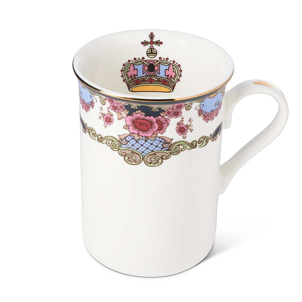 Empress Royal Mug Interior Image of Logo in Cup