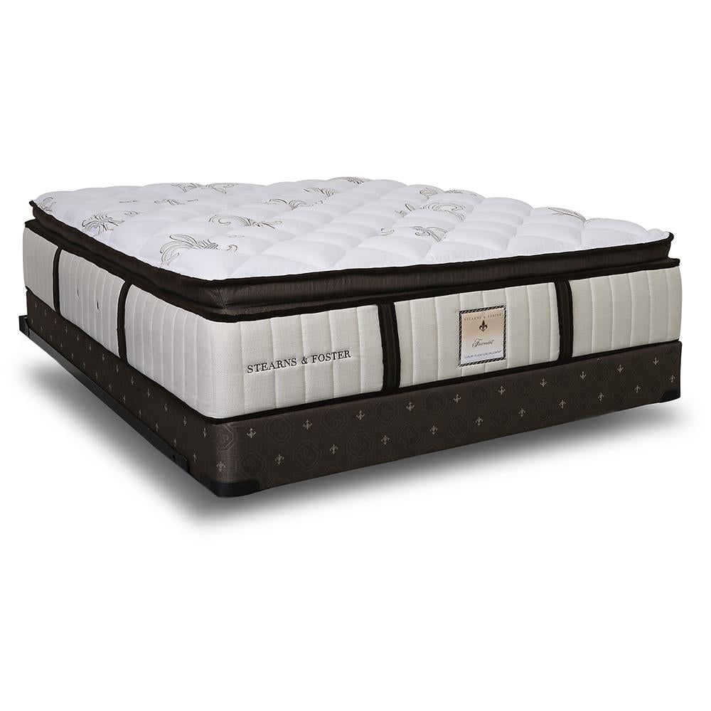 The Fairmont Signature Bed - Sealy Sterns & Foster mattress on an angle
