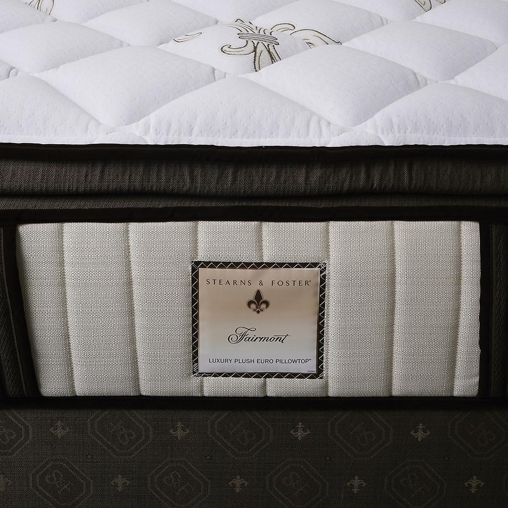 The Fairmont Signature Bed - Sealy Sterns & Foster luxury plush Euro pillowtop