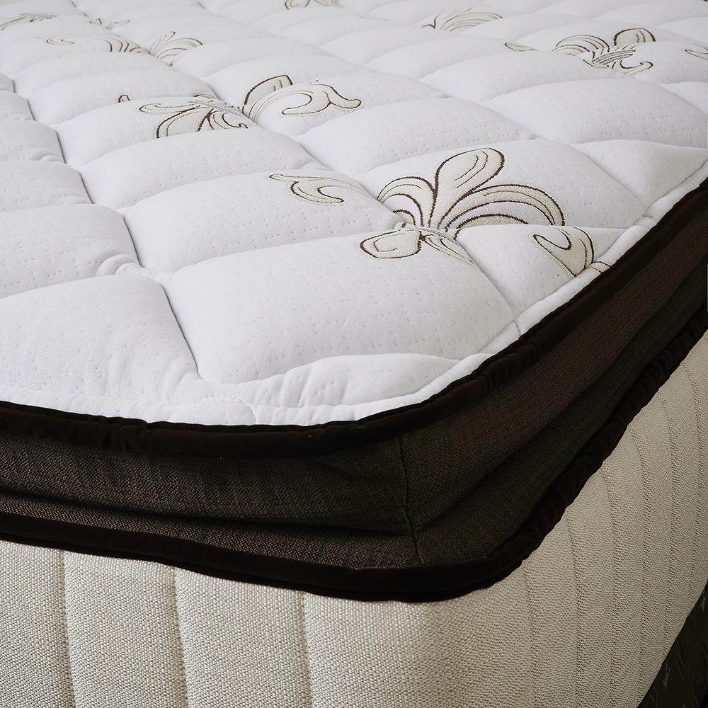 The Fairmont Signature Bed - Sealy Sterns & Foster mattress side detail