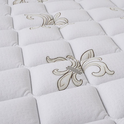 The Fairmont Signature Bed - Sealy Sterns & Foster pillowtop mattress detail