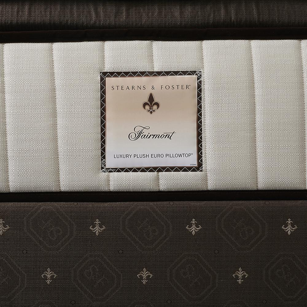 The Fairmont Signature Bed - Sealy Sterns & Foster luxury plush Euro pillowtop label
