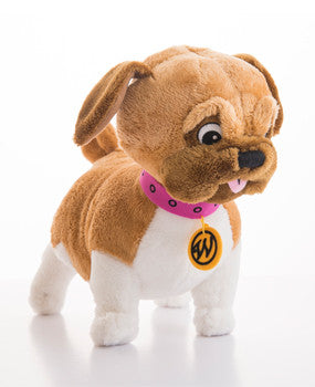 Eloise Weenie Plush Dog