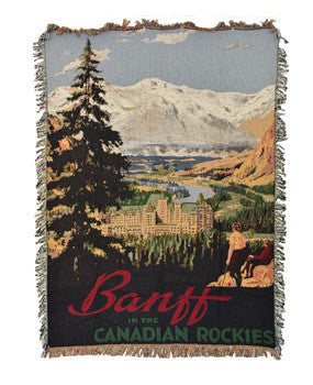 Blankets - Banff in the Canadian Rockies