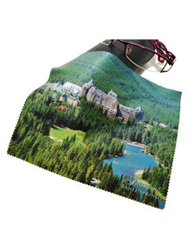 The Fairmont Banff Springs Eyeglass Cloth