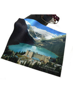 The Fairmont Chateau Lake Louise Eyeglass Cloth