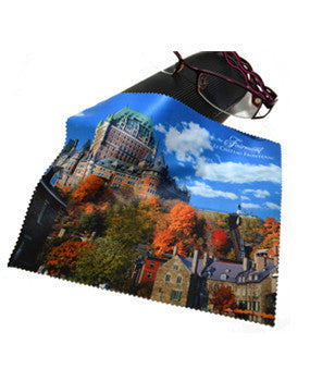 Fairmont Lé Château Frontenac Eyeglass Cloth