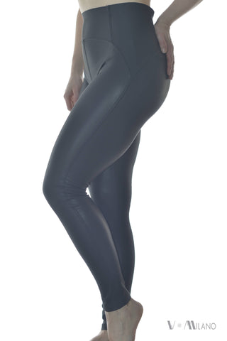 Leggings Roxie Push-Up Lederoptik