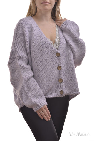 Strickjacke Riley Melange