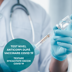 Covid 19 antibody level test (after vaccination or after infection)