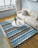 Geometric Modern Art Living Room Carpet Nordic Area Rug Large