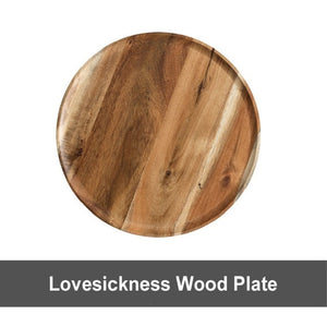 Solid Wooden Pan Plate