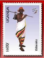 Local Anniversaries & Events 2007: UPU Costumes of Uganda