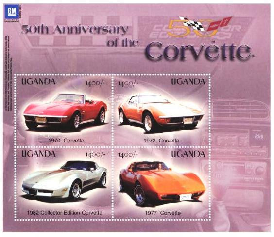 Anniversaries and Events 2003 50th Anniversary of the Corvette