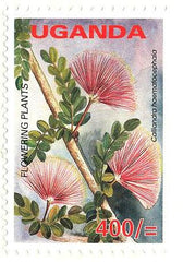 10th Uganda definitive Stamp Series: ''Flowering Plants of Uganda''