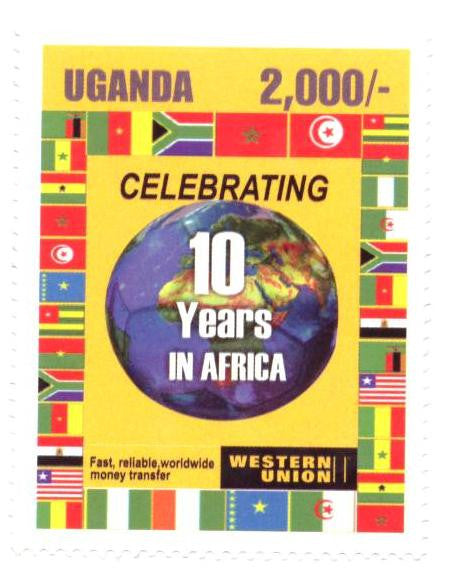 Western Union Celebrating 10 Years in Africa.