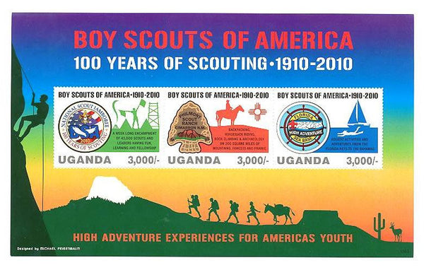 Boy Scouts of America- 100 Years of Scouting 1910-2010