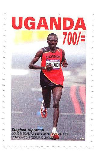 Stephen Kiprotich,  Olympic Champion in the Marathon- London 2012
